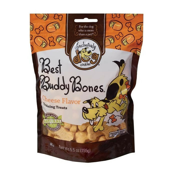 Exclusively Pet Best Buddy Bones Cheese Flavor Dog Treats