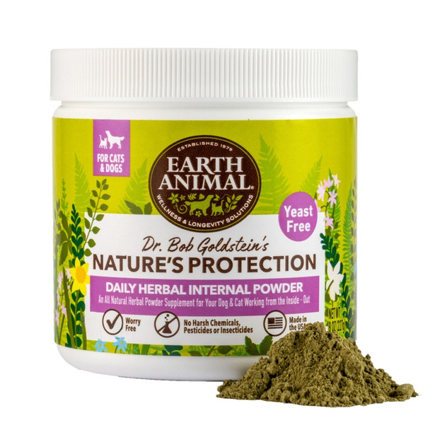 Earth Animal Flea and Tick Program Daily Internal Powder For Dogs