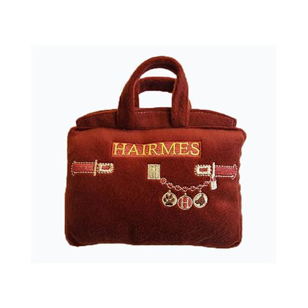Hairmes Handbag Plush Dog Toy