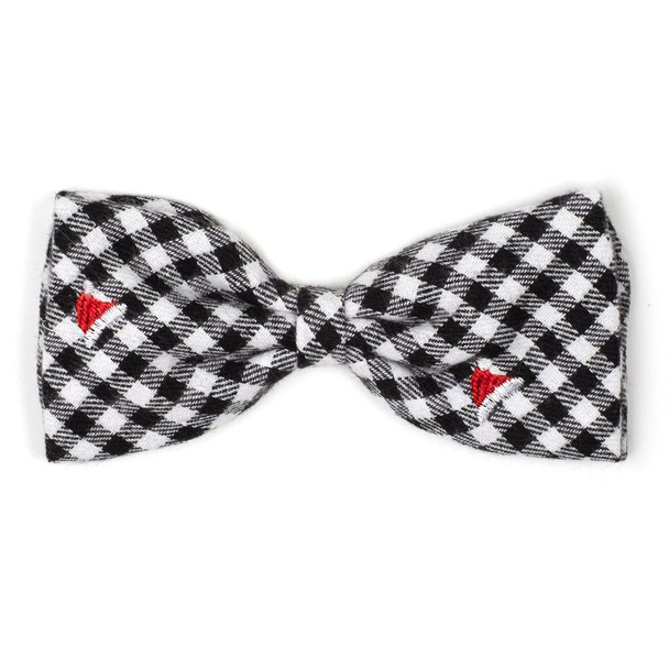 Christmas Santa Hats Dog Bow Tie