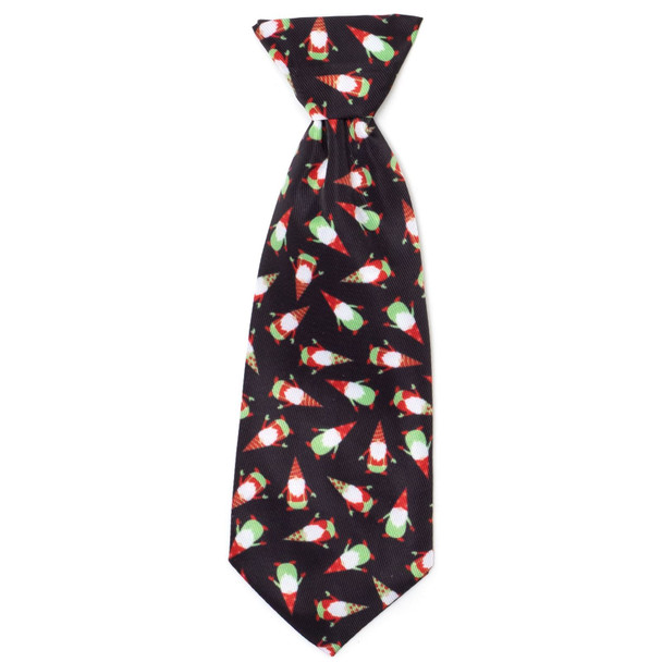 Gnomes Pet Dog Neck Tie