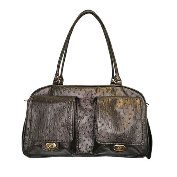 Marlee Pet Dog Carrier - Bronze Ostrich by Petote