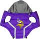 NFL Minnesota Vikings Licensed Dog Puffer Vest Coat - S - 3X