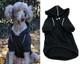 Sport Dog Hoodie -Jet Black - Tiny - Big Dog Sizes