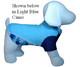 Flaming Blue Tuga Sun Protective Lightweight Dog Shirt - Rash gard