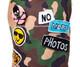 Designer Camo Emoji's Dog T-Shirt