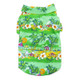 Tropical Island Green Dog Camp Shirt