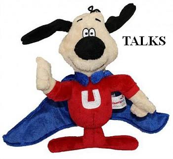 Underdog Talking Dog Toy Nostalgic Cartoon Character Puprwear Gw