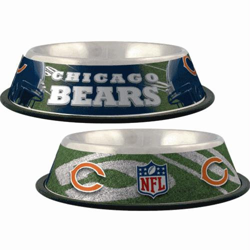 promo code df362 47d3b Chicago Bears Dog Bowl