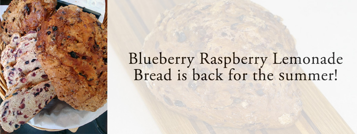Blueberry Raspberry Lemonade Bread
