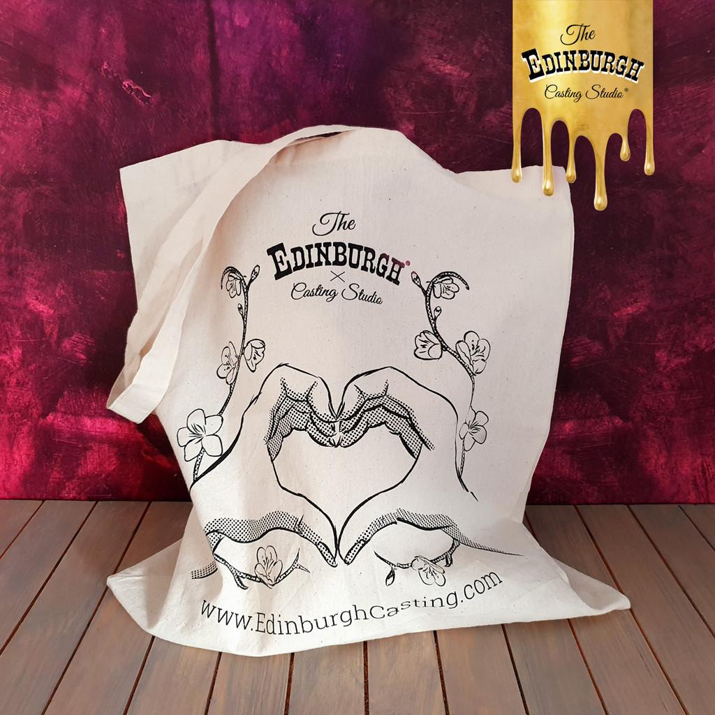 Edinburgh Casting Studio cotton tote bag