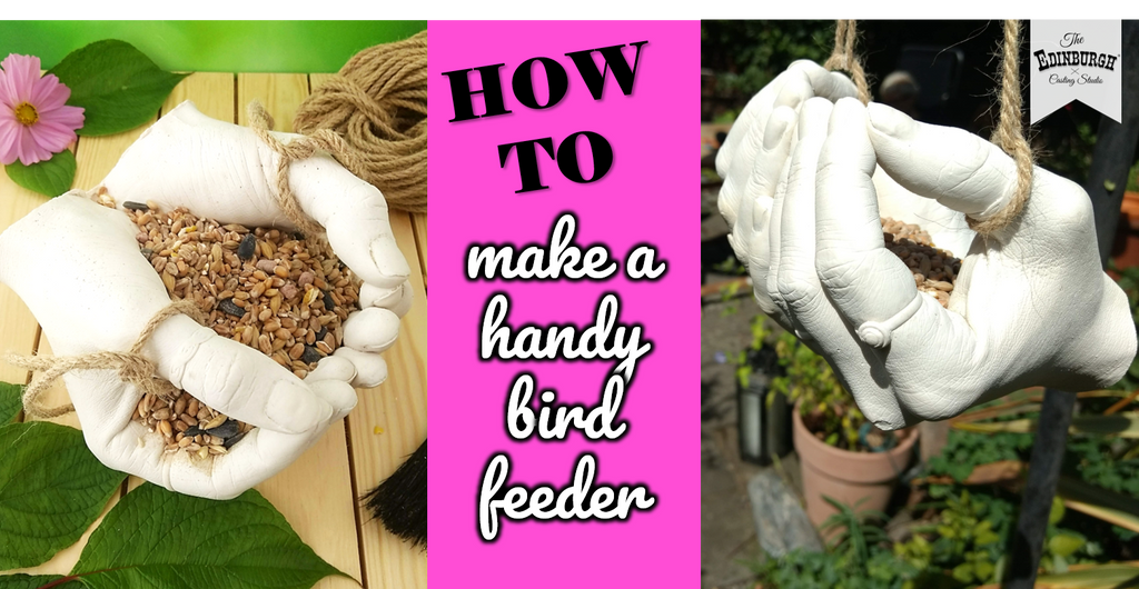 How to Make a Hand Cast Bird Feeder