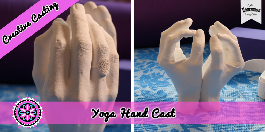 Meaningful Casting: Try This Yoga Hand Cast