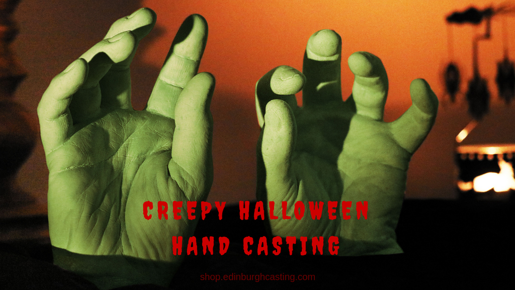 How to Make Creepy Hand Castings & 4 Amazing Halloween Crafts