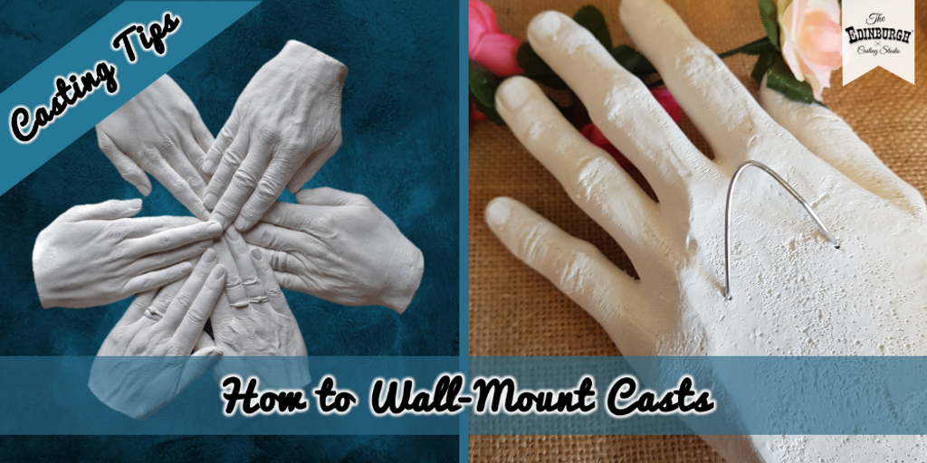 How to Wall-Mount Your Hand Cast