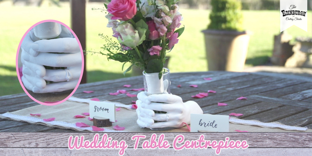 How To Make A Stunning Hand Cast Wedding Centrepiece