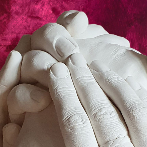 Extra large family handcasting detail