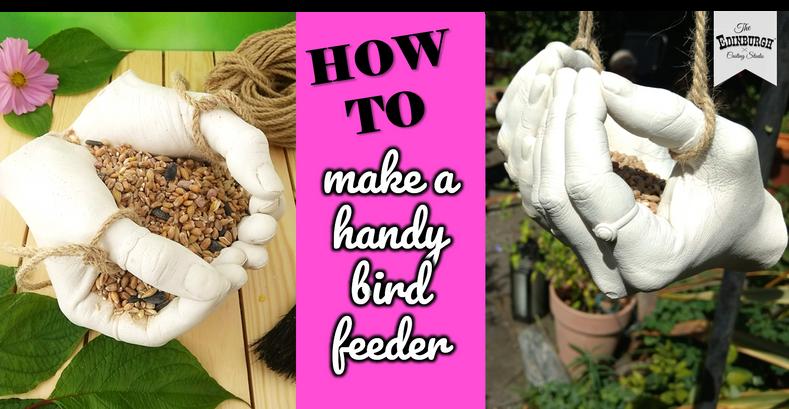 How to Make a Hand Cast Bird Feeder