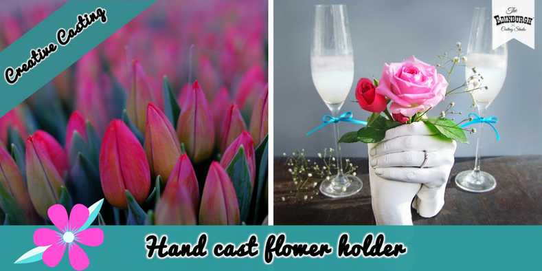 How to Make a Hand Cast Flower Holder