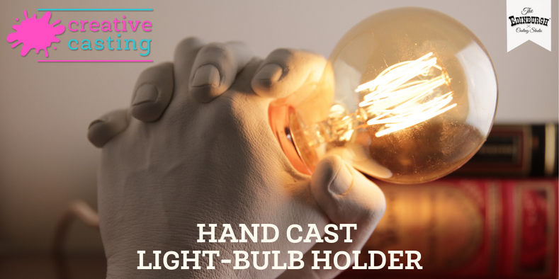 How to Make a Hand Cast Light-bulb Holder