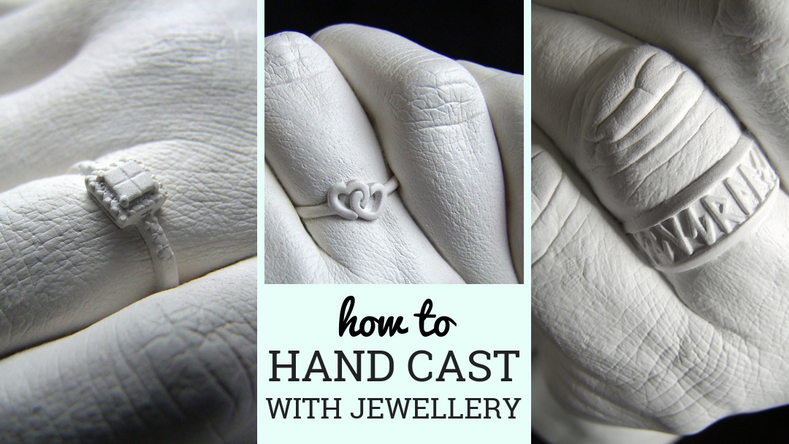 S​how Your Rocks Off: How to Hand Cast With Jewellery