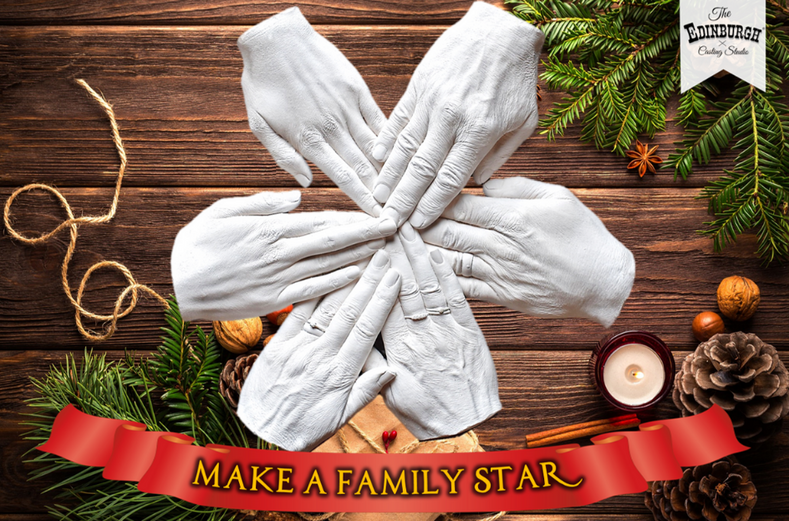 How to Create a Star-Shaped Family Hand Casting