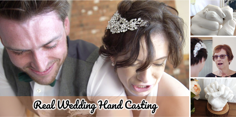 Real Wedding Hand Casting!