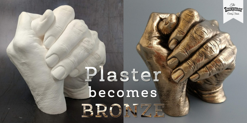 Hand Casting Memorial: Turning Plaster into Bronze
