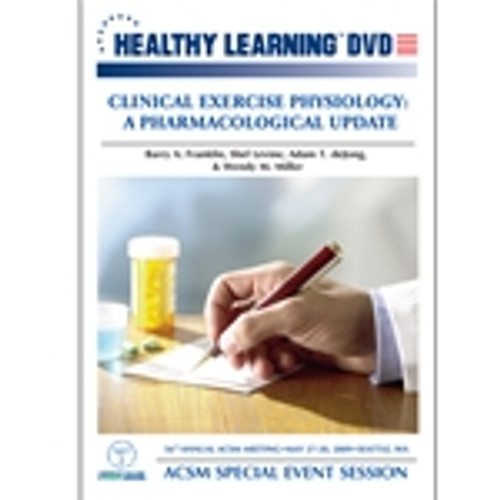 Clinical Exercise Physiology: A Pharmacological Update
