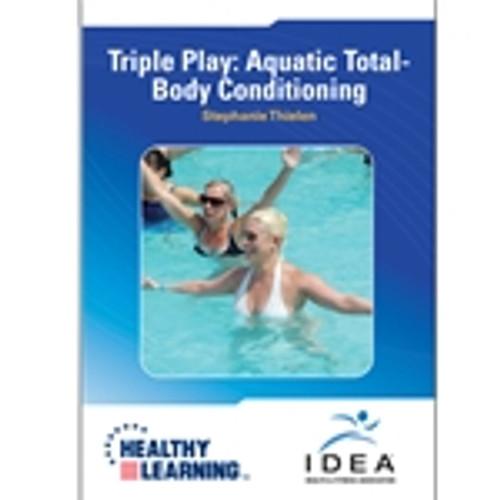Triple Play: Aquatic Total-Body Conditioning