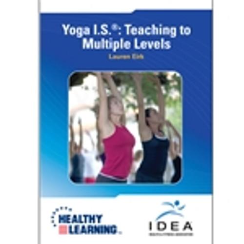Yoga I.S. ®: Teaching to Multiple Levels