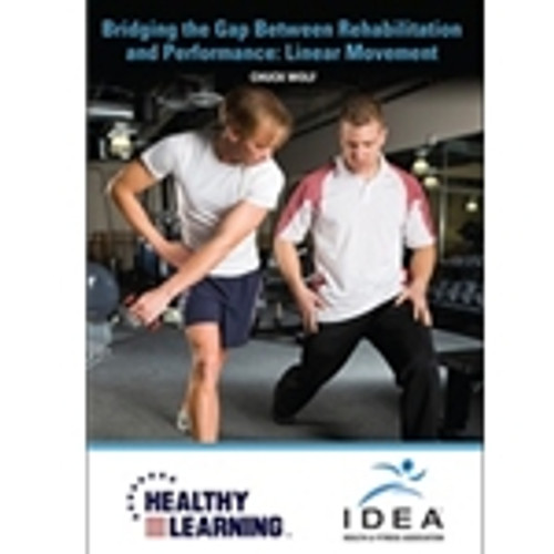 Bridging the Gap Between Rehabilitation and Performance: Linear Movement