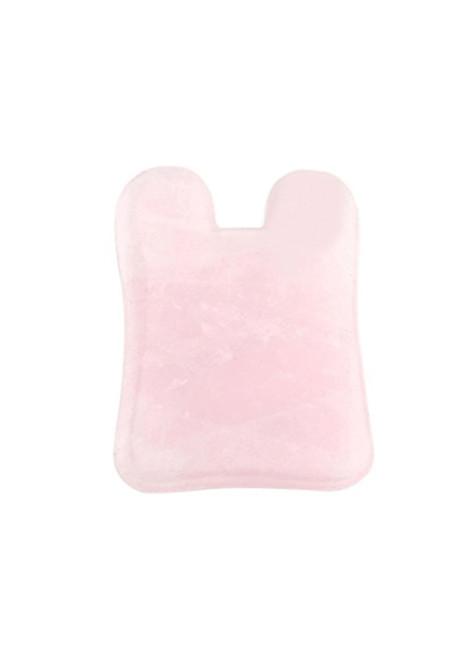 Gua Sha Facial - Natural Rose Quartz Concave Stone