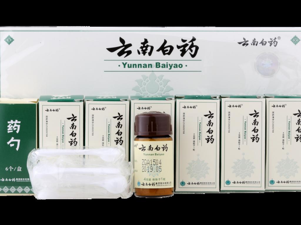 Yunnan Baiyao Powder 4g/bottle 6bottle/box (China Warehouse)