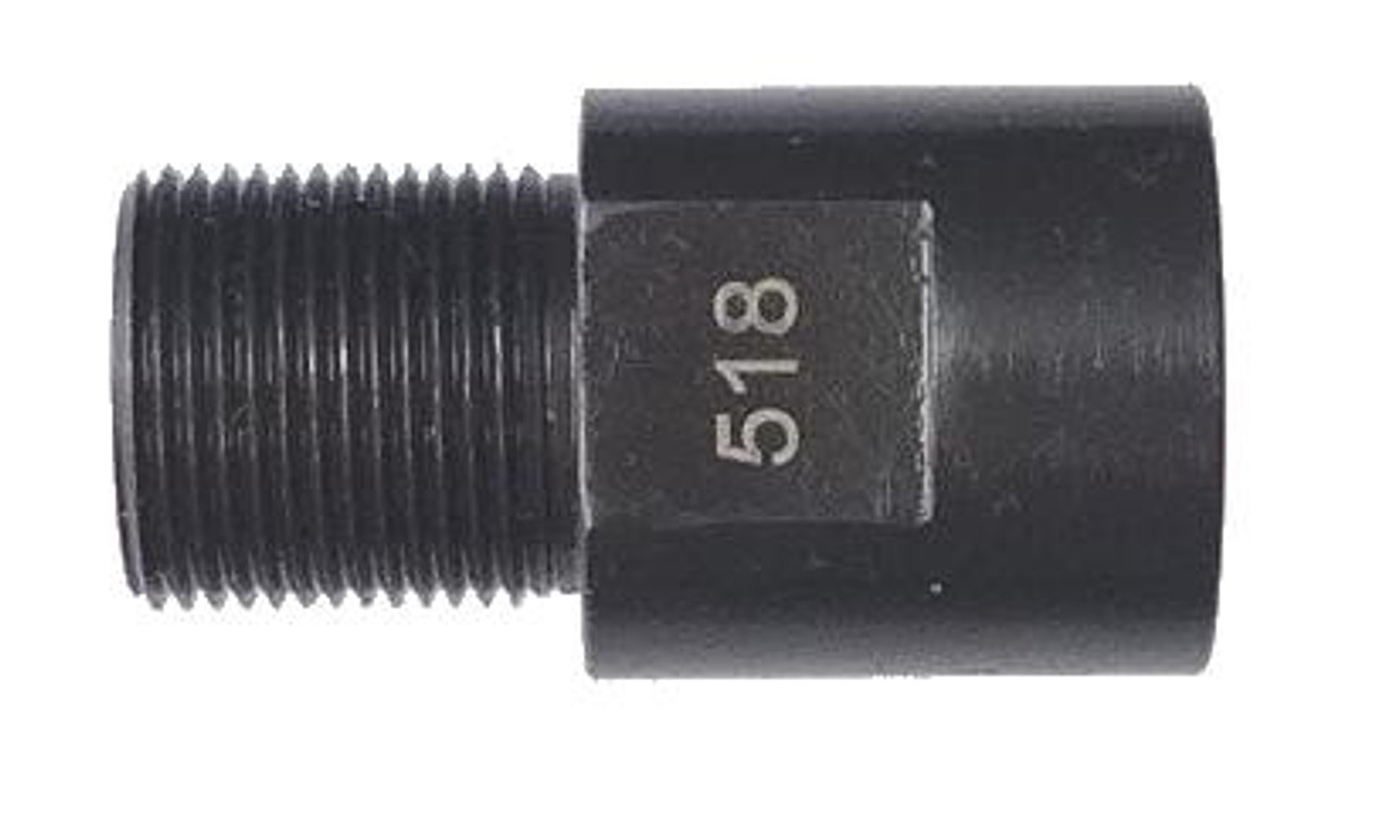 Silencer Adapters, 12 Size Female Barrel Thread to 5/8