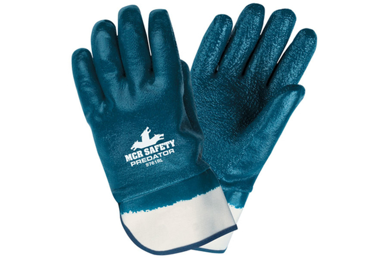 nitrile jersey glove