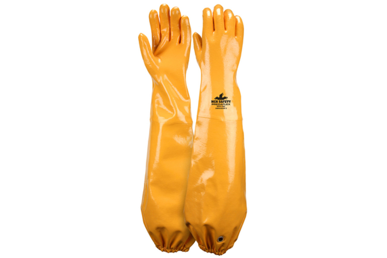 PredaFlex shoulder length coated nitrile glove