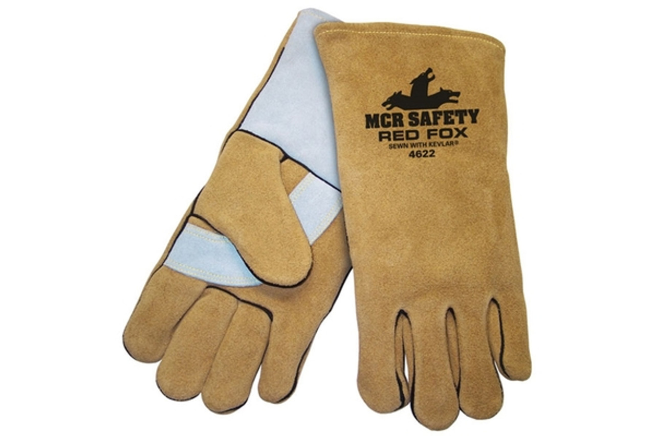 Red Fox Welders Glove