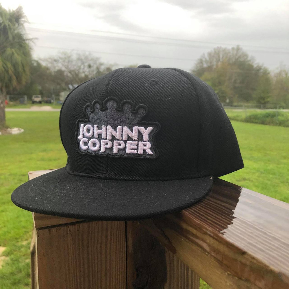 Johnny Copper Embroidered Snap back Hat (Limited Edition)