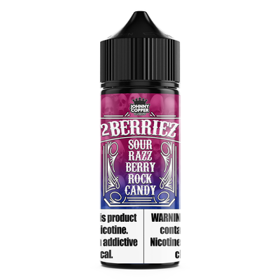 2 Berries - Blue/Razz Sour Rock Candy