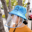Protective Face Shield with Hat