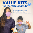 Back to School, Kids COVID Protection Kit
