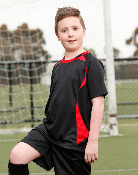 TS85K - Kids Shoot Soccer Tee