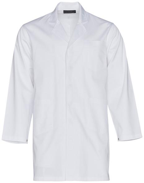 M7632 - Unisex Long Sleeve Lab Coat