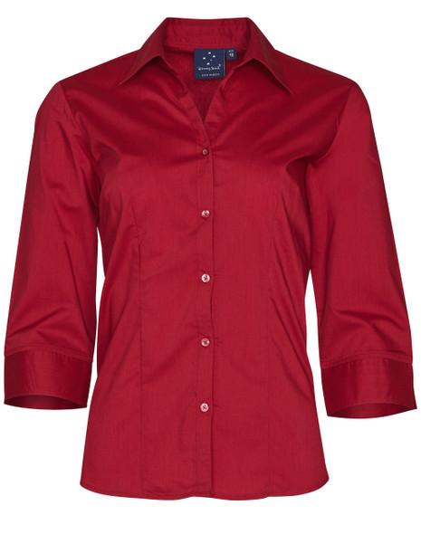 BS07Q - Women's Teflon Executive 3/4 Sleeve Shirt