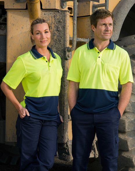 SW01CD - High Visibility CoolDry Short Sleeve Polo