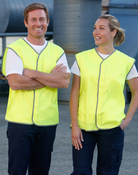 SW02 - High Visibility Safety Vest