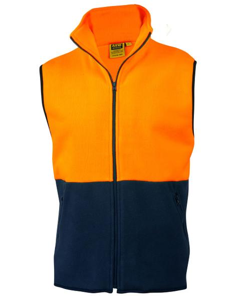 SW08 - High Visibility 2 Tone Vest