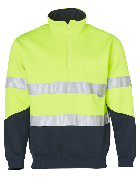 SW14 - Fleece Sweat with Collar and 3M Tapes