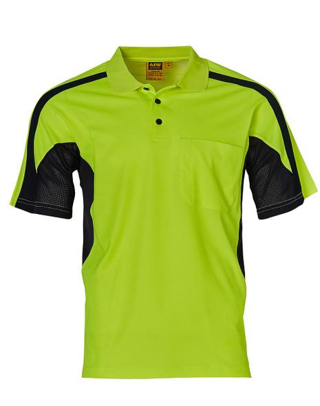 SW25 - Unisex TrueDry Fashion Hi-Vis Polo with Underarms Mesh
